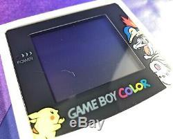 Console Couleur Nintendo Gameboy Couleur Or / Argent Pokemon Center. 1000 Édition Limitée