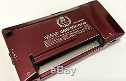 Console Couleur Nintendo Gameboy Micro Famicom, 20e Anniversaire, Aucune Boîte Utilisée