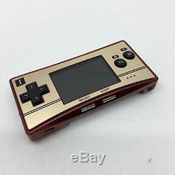 Console Couleur Nintendo Gameboy Micro Famicom 20e Anniversaire P / S Japonrare