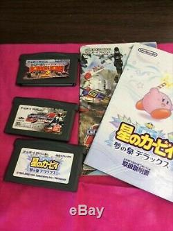 Console Couleur Nintendo Gameboy Micro Famicom Avec Le Logiciel 3game Nm F / S Rare