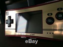 Console Couleur Nintendo Gameboy Micro Famicom Avec Logiciel 4game Vg F / S Rare