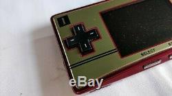 Console Couleur Nintendo Gameboy Micro Famicom, Chargeur, Manuel Emballé Testé-b301