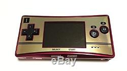 Console Couleur Nintendo Gameboy Micro Famicom Us / Us Japan Sal