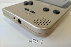 Console De Jeu Game Boy Light Gold Mgb-101, Manuel, Cartouche De Jeu Coffret Set-a828