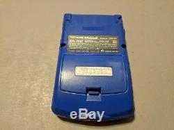 Console De Jeu Nintendo Game Boy Color Pokemon Edition Jaune Boîte Complète Cib