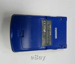 Console De Poche Game Boy Color Pokemon Édition Spéciale En Boîte Complète