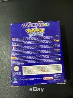 Console Game Boy Color Console Pokemon Édition Spéciale Pikachu En Boite