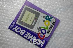 Console Game Boy Color Pokemon Center 3ème Anniversaire Limitée Cib Nintendo Japon