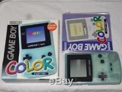 Console Game Boy Couleur Ice Blue Toys R Us Complète Import Japan