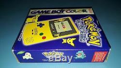 Console Game Boy Game Boy Color Pokemon Édition Spéciale
