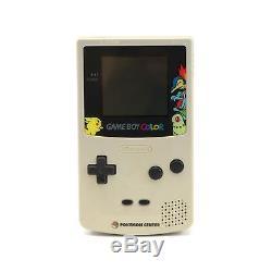 Console Gameboy Color Pokemon Center Ltd Rare Jap Cib, Boxed Grande Condition