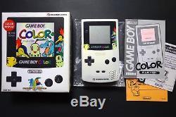 Console Jeu Couleur Pokemon Center Limited Très. Bien. Condition Japon