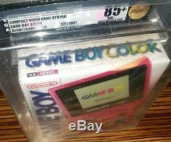 Console Nintendo Game Boy Color Berry Nouveauté Scellé Vga 85+ Non Circulé Mint Gold