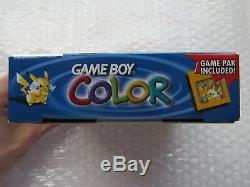 Console Nintendo Game Boy Couleur Jaune Console Système Console De Poche Pokemon Pikachu Uniquement