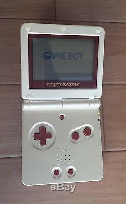 Console Nintendo Gameboy Advance Sp Famicom Color Boxed + 2 Jeux Zelda Testés Cib