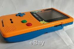 Console Nintendo Gameboy Color Pokemon En Édition Limitée, Couleur Orange, Boxed-a1205