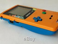 Console Nintendo Gameboy Color Pokemon En Édition Limitée, Couleur Orange, Game-b313