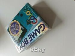 Console Nintendo Gameboy Couleur Teal Turquoise Console Marque Nouvelle Usine Scellée
