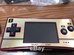Console Nintendo Gameboy Micro Famicom Couleur 20e Anniversaire F / S Japon Utilisé