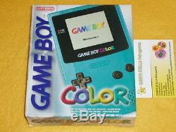 Console Nintendo Gbc Game Boy Couleur Nuova Nouveau Rarissima Très Rare + Gioco E