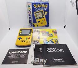 Console Pokemon Gameboy Couleur Pokemon Édition Spéciale Game Boy En Boîte