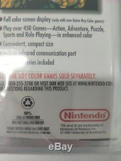 Couleur Gameboy Rose Scellée Avec Zelda Back Vga Graded 90+ Uncirculated 1999 Berry