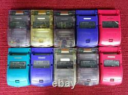 Couleur Gbc Ordure Lot Gameboy 10 Set Nintendo Console Au Hasard Japon Vintage