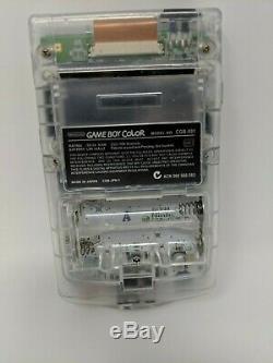 Couleur Horror Game Boy Atomic Violet Cgb-001 Testé Et Fonctionnel