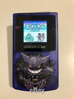 Couleur Personnalisée Pokemon Backlit Gameboy Color 2