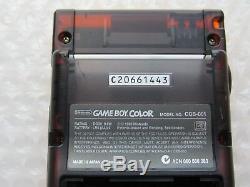 Daiei Hawks Japan Import Transparent Orange Noir Nintendo Game Boy Couleur Atomic Rare