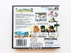 Dernière Bible II 2 + Case Box (traduction Anglaise) Nintendo Gameboy Color Gbc (usa)