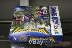 Dragon Warrior I & II (couleur De Game Boy, 2000) H-seam Scellé! Excellent! Rare
