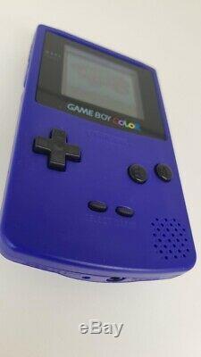 Écran En Verre À Raisin Nintendo Gameboy Color Backlight Grape