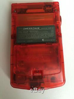 Écran En Verre Et Rétro-éclairage Mcwill Gameboy Color Light Clair Nintendo