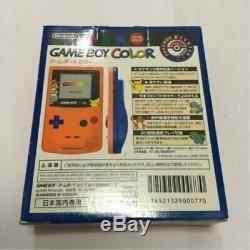 Édition Limitée Nintendo Gameboy Color Pokemon Orange, Importée Du Japon F / S