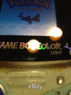 Effacer Backlit Gameboy Color Nouveau Rétro-éclairage Écran