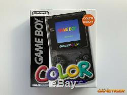 Effacer Game Boy Color Noir Eiden Electronics Limited Edition Nintendo Japon