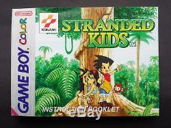 Enfants Échoués Ovp + Anleitung! Sehr Guter Zustand! Nintendo Gameboy Color