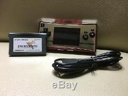 Ex Nintendo Game Boy Micro Famicom 20 Nes Couleur Console De Jeu