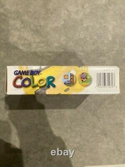 Excellente Condition Coffret Nintendo Gameboy Color Jaune