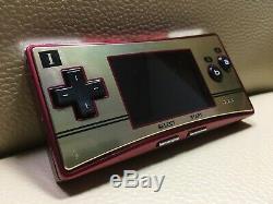 Excellente Nintendo Game Boy Micro 20 Famicom Nes Couleur Console De Jeux F / S