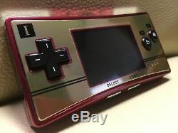 Excellente ++ Nintendo Game Boy Micro 20 Famicom Nes Couleur Console De Jeux F / S