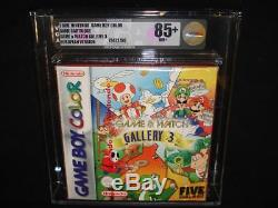 Game And Watch Gallery 3 Nintendo Gameboy Couleur Vga Gold Sealed Red Pal Pal