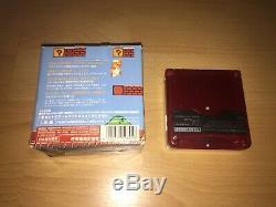 Game Boy Advance Nintendo Famicom Color Mario Complet