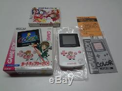 Game Boy Carte Couleur Captor Sakura Nintendo Japan + Jeu Soft Wink Ver. Nouveau
