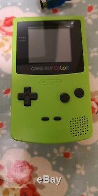 Game Boy Color +52 Jeu Bundle