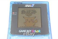 Game Boy Color Console Ana Toutes Les Nippon Airways Limited Cgb-001 Testé 7087 Go