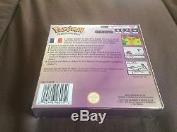 Game Boy Color Gbc Pokémon Version Cristal Complet (jeu, Avis, Boîte) Tbe