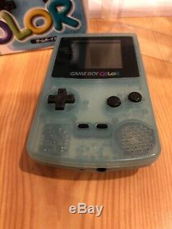 Game Boy Color Ice Blue Toys R Us Illimité Nintendo Japon