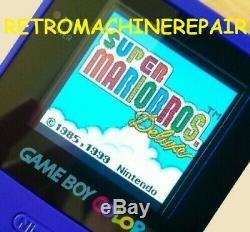 Game Boy Color Mcwill Installer Le Coût De L'écran LCD Mcwill Est Inclus Dans Le Prix